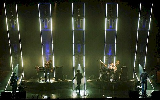 SIMPLE MINDS ALIVE AND KICKING EUROPEAN TOUR 2003 Lighting ...